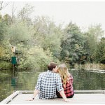 Bowmanville engagement session at conservation area