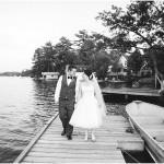 Bala Falls Wedding