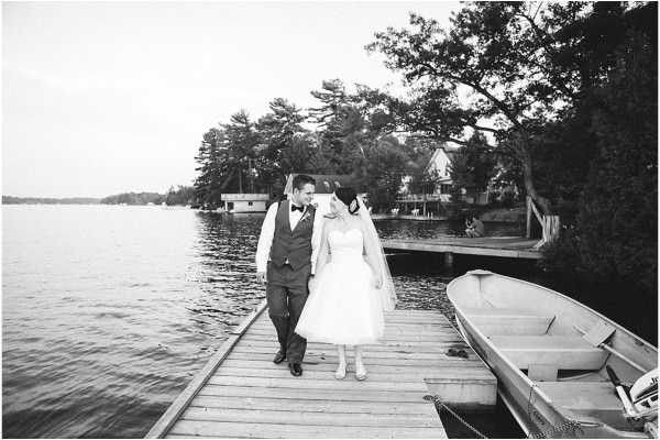 Muskoka Wedding in Bala Falls