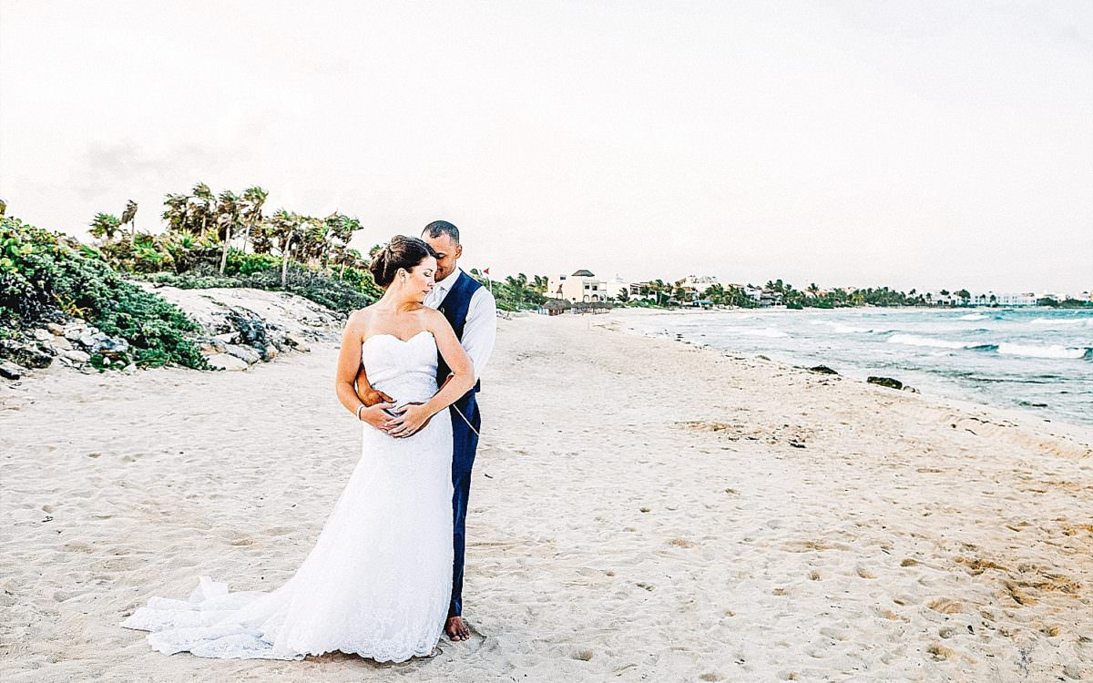 Mayan Riviera Mexico Beach Wedding