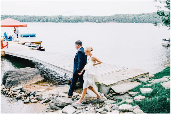 Haliburton Cottage Lake Wedding