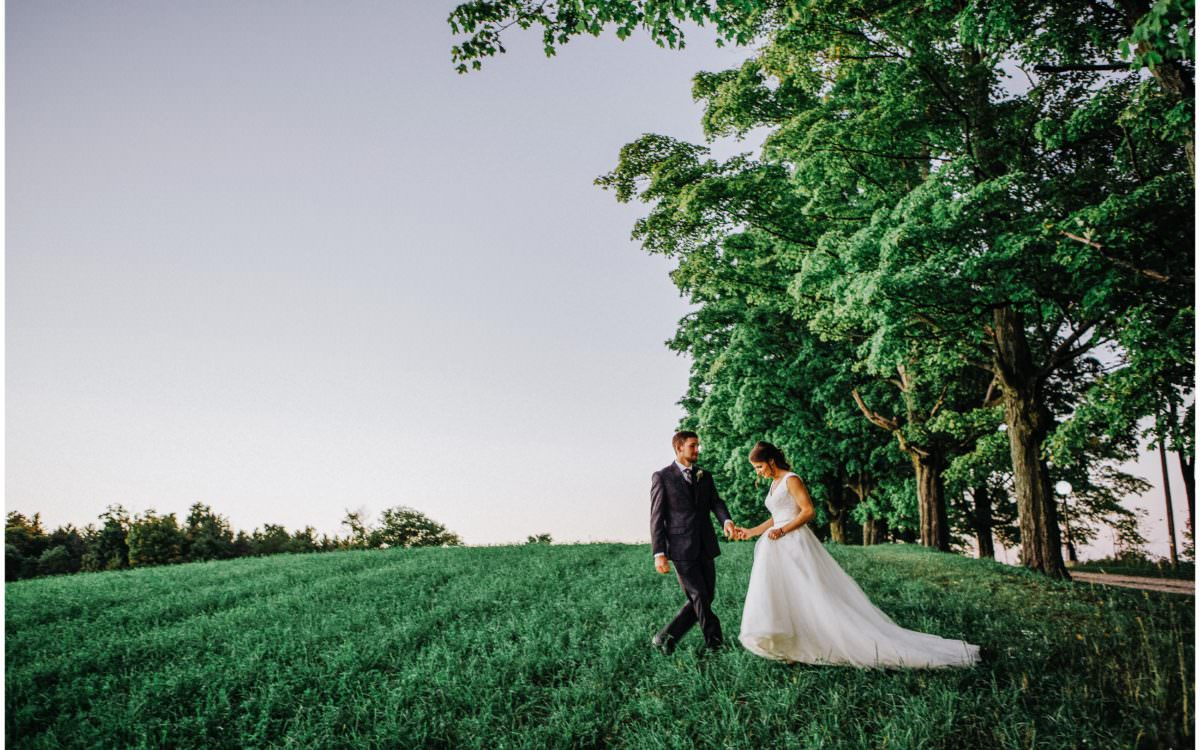 Ontario Outdoor Barn Wedding
