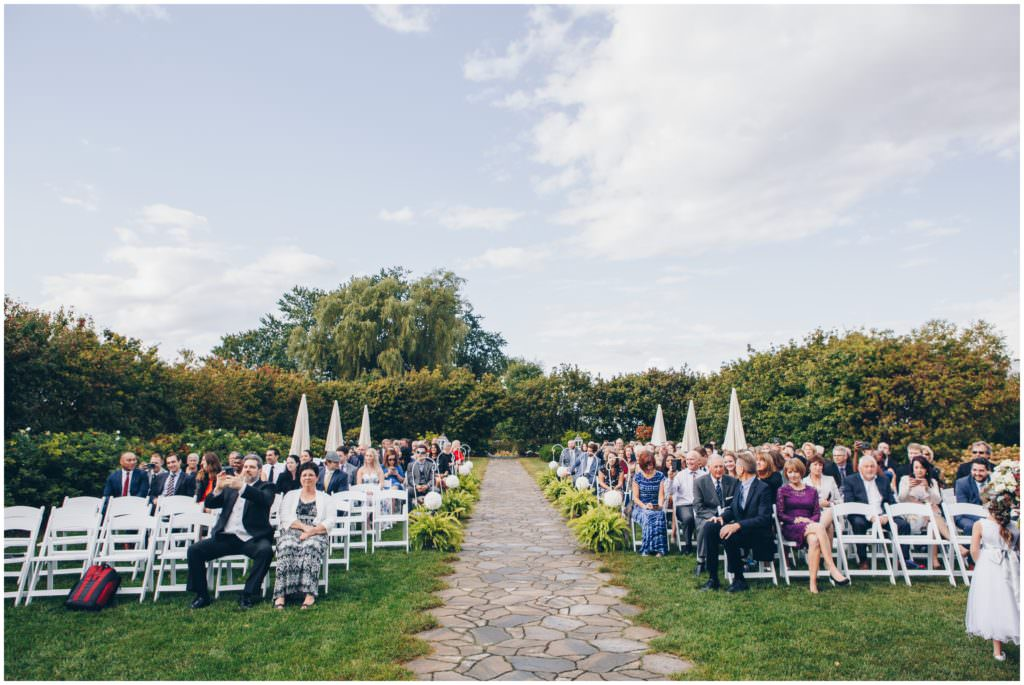 Fall wedding at Bloom Field Gardens